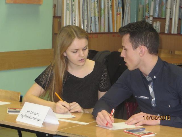 Oglądasz fotografię z artykułu: 10 Powiatowy Konkurs Języka Niemieckiego dla Klas Drugich