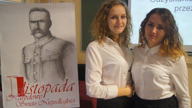 Oglądasz fotografię z artykułu: Obchody Narodowego Święta Niepodległości w Zespole Szkół Budowlanych