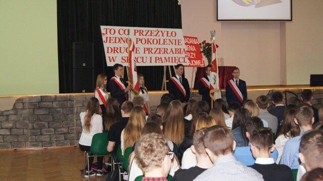 Oglądasz fotografię z artykułu: Jubileusz 20 - lecia nadania imienia Żołnierzy Armii Krajowej