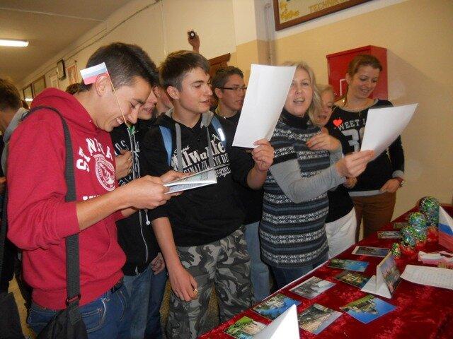 Oglądasz fotografię z artykułu: Dzień Języków Europejskich w ZSB