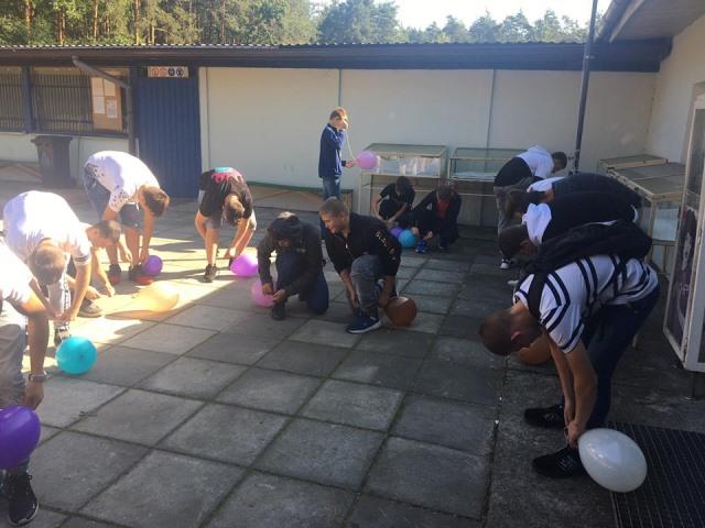 Oglądasz fotografię z artykułu: Integracja klas pierwszych z Zespołu Szkół Budowlanych