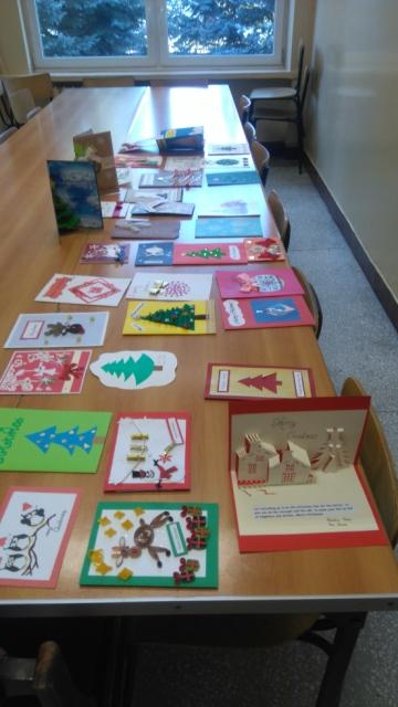 Oglądasz fotografię z artykułu: Kartki świąteczne za granicę.