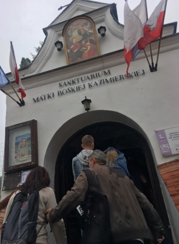 Oglądasz fotografię z artykułu: Niezwykłe nadwiślańskie miasteczko zachwyciło młodzież z Zespołu Szkół Budowlanych