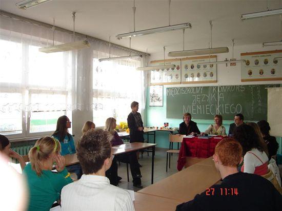 Oglądasz fotografię z artykułu: Konkurs jezyka niemieckiego 27.03.2007r. (ustny)