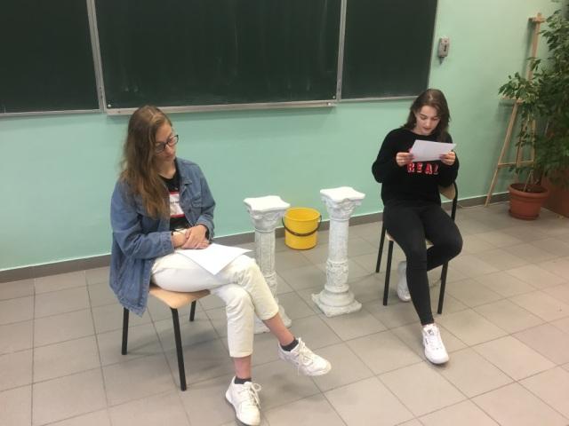 Oglądasz fotografię z artykułu: Narodowe Czytanie nowel polskich w Zespole Szkół Budowlanych