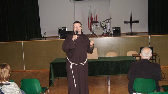 Oglądasz fotografię z artykułu: Spotkanie z dyrektorem Hospicjum ojcem dr Filipem Leszkiem Buczyńskim