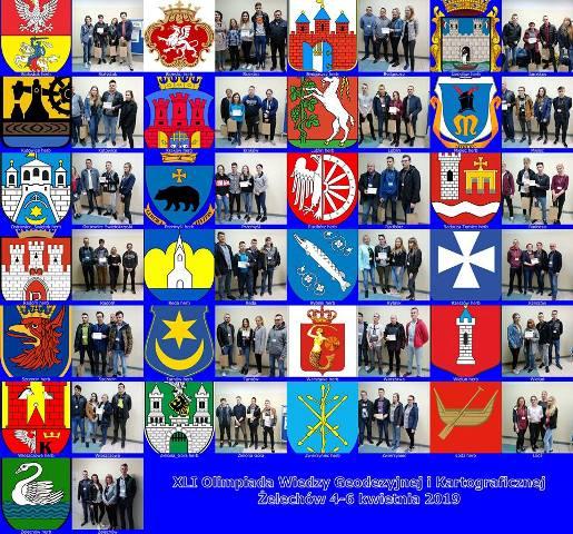 Oglądasz fotografię z artykułu: 3-6 IV, Żelechowie- XLI Olimpiada Wiedzy Geodezyjnej i Kartograficznej