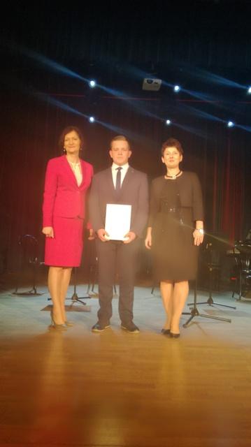 Oglądasz fotografię z artykułu: Stypendium Prezesa Rady Ministrów otrzymał Patryk Golec