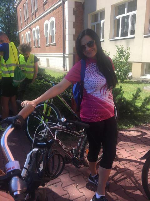 Oglądasz fotografię z artykułu: Młodzież Zespołu Szkół Budowlanych w Mielcu na rajdzie rowerowym.