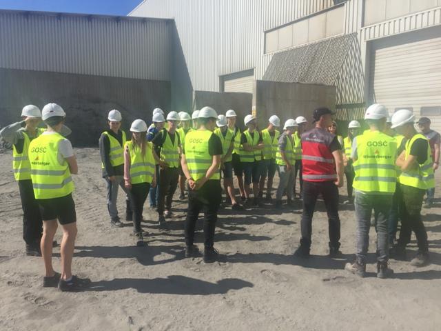 Oglądasz fotografię z artykułu: Uczniowie ZSB na Targach w Kielcach.