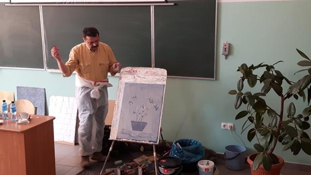 Oglądasz fotografię z artykułu: Tikkurila - innowacyjna lekcja z przedmiotów zawodowych
