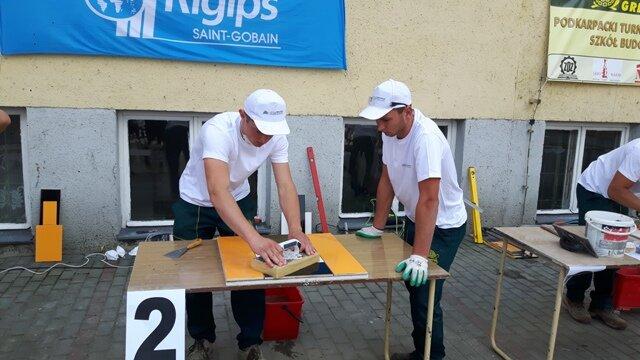 Oglądasz fotografię z artykułu: VI Podkarpacki Turniej Glazurników Szkół Budowlanych