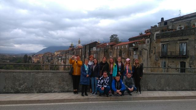 Oglądasz fotografię z artykułu: Międzynarodowe spotkanie uczniów.