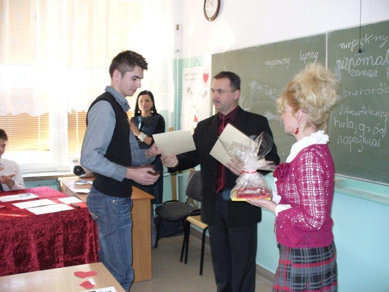 Oglądasz fotografię z artykułu: Walentynkowy konkurs w Zespole Szkół Budowlanych