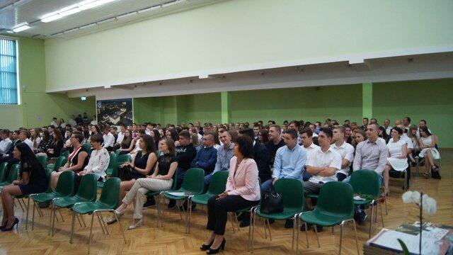 Oglądasz fotografię z artykułu: Uroczyste zakończenie roku w Zespole Szkół Budowlanych w Mielcu